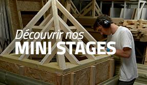 Découvrir nos mini stages