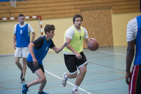Match de basketball UNNS