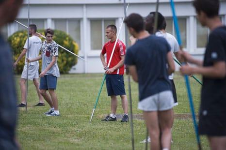 Eleves en athlétisme UNNS